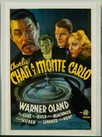CHARLIE CHAN AT MONTE CARLO 1sheet
