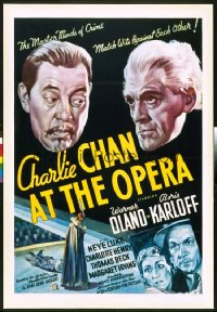 CHARLIE CHAN AT THE OPERA 1sheet