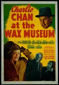 CHARLIE CHAN AT THE WAX MUSEUM 1sheet