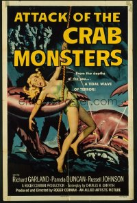 ATTACK OF THE CRAB MONSTERS 1sheet
