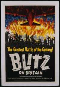 BLITZ ON BRITAIN 1sheet