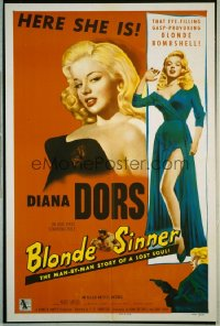 BLONDE SINNER 1sheet