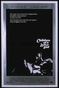 CHILDREN OF A LESSER GOD 1sheet