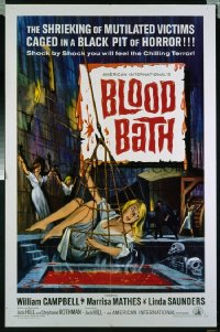 BLOOD BATH ('66) 1sheet