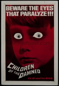 CHILDREN OF THE DAMNED 1sheet