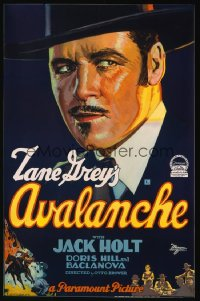 AVALANCHE ('28) 1sheet