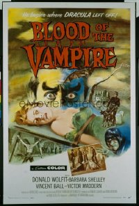 BLOOD OF THE VAMPIRE 1sheet