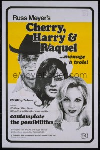 CHERRY, HARRY & RAQUEL 1sheet