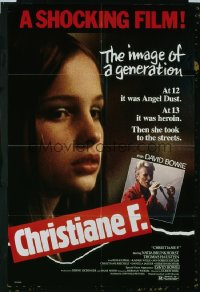 CHRISTIANE F. 1sheet