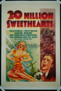 20 MILLION SWEETHEARTS 1sheet