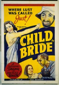 CHILD BRIDE 1sheet R40s