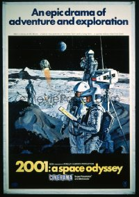 2001: A SPACE ODYSSEY 1sheet
