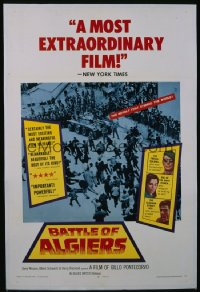 BATTLE OF ALGIERS 1sheet