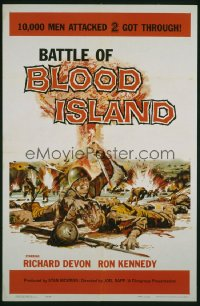 BATTLE OF BLOOD ISLAND 1sheet