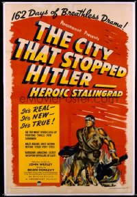 CITY THAT STOPPED HITLER 1sheet