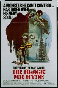 DR BLACK MR HYDE 1sheet