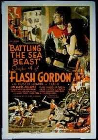 028 FLASH GORDON ('36) CH4, linen 1sheet