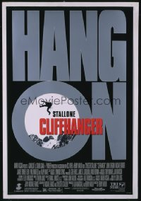 280 CLIFFHANGER 1sheet 1993