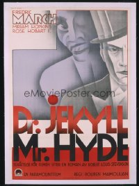 DR. JEKYLL & MR. HYDE ('31) Swedish