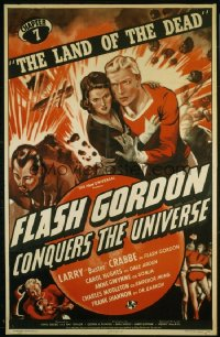 FLASH GORDON CONQUERS THE UNIVERSE CH7 1sheet