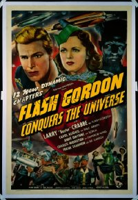 FLASH GORDON CONQUERS THE UNIVERSE 1sheet