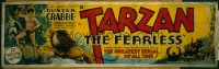 013 TARZAN THE FEARLESS entire serial paper banner