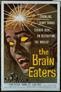 BRAIN EATERS 1sheet