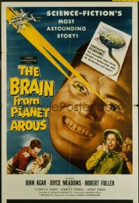 BRAIN FROM PLANET AROUS 1sheet