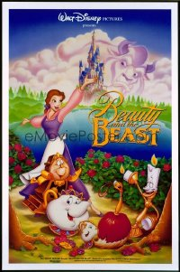 BEAUTY & THE BEAST ('91) 1sheet