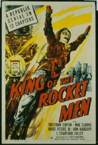 119 KING OF THE ROCKET MEN ('49) entire serial 1sheet