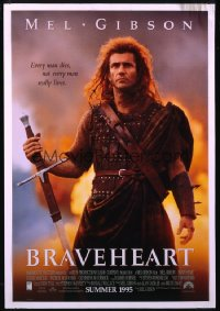 BRAVEHEART ('95) 1sheet