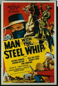 126 MAN WITH THE STEEL WHIP entire serial 1sheet