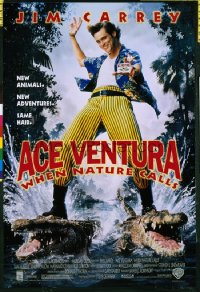 ACE VENTURA WHEN NATURE CALLS video