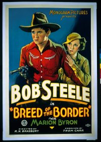 BREED OF THE BORDER ('33) 1sheet
