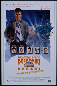 ADVENTURES OF BUCKAROO BANZAI 1sheet