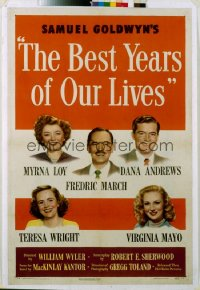 BEST YEARS OF OUR LIVES 1sheet
