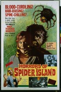 HORRORS OF SPIDER ISLAND 1sheet