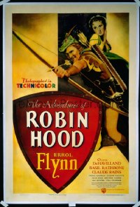 ADVENTURES OF ROBIN HOOD 1sheet