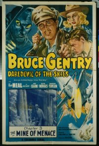 BRUCE GENTRY DAREDEVIL OF THE SKIES CH3 1sheet