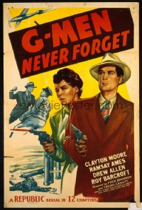 G-MEN NEVER FORGET 1sheet