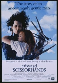 EDWARD SCISSORHANDS 1sheet