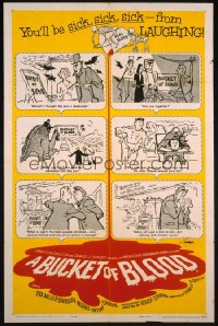 BUCKET OF BLOOD ('59) 1sheet