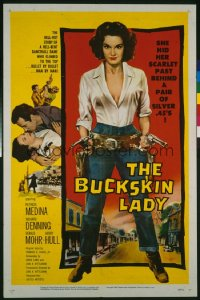 BUCKSKIN LADY 1sheet