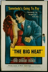 BIG HEAT ('53) 1sheet