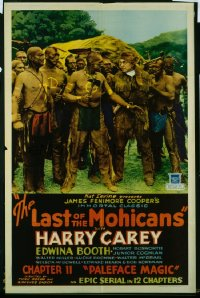 008 LAST OF THE MOHICANS ('32) CH11 1sheet