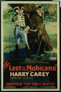 007 LAST OF THE MOHICANS ('32) CH8 1sheet