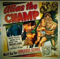 342 ALIAS THE CHAMP six-sheet 1949