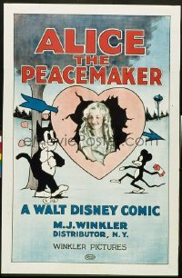 ALICE THE PEACEMAKER 1sheet