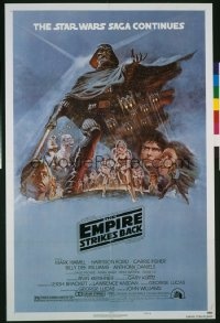 EMPIRE STRIKES BACK 1sheet