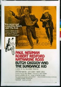 BUTCH CASSIDY & THE SUNDANCE KID 1sheet